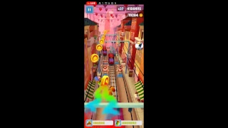 playing subway surfers until around 4 pm