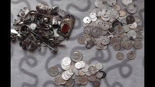 Куча Серебра найденная в степях Казахстана за 4 года!