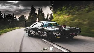 dodge charger drift is a big muscle car