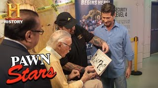 Pawn Stars: Stan Lee Meets Chumlee (Season 14) | History