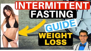 Fasting for Weight Loss - 👉Intermittent Fasting Plan!!💥 Guide to Intermittent Fasting➡Fast Fat Loss✔Weight loss tips👈