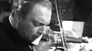 Isaac Stern playing Bach