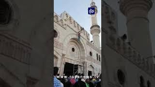 """سقوط عامل من أعلى """"المسجد الحسيني"""" أثناء أعمال الصيانة"""