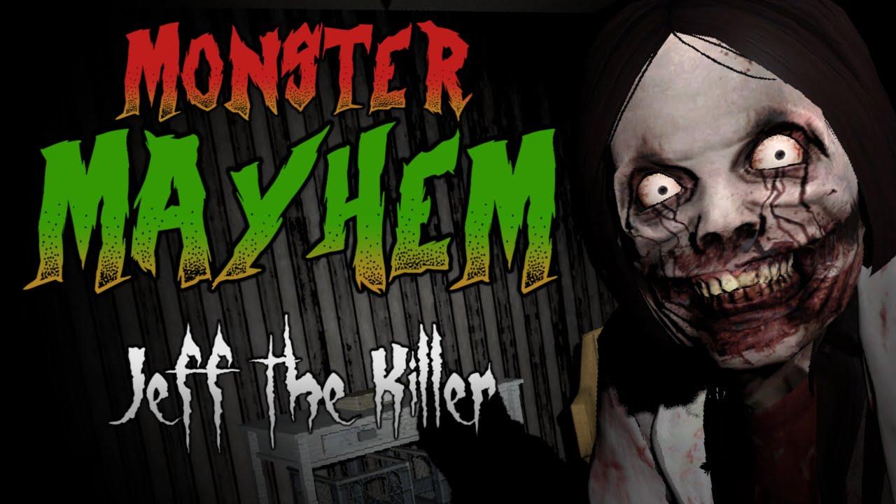 Monster Mayhem Jeff The Killer Garry S Mod Youtube