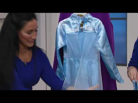 Disney's Frozen 2 Elsa Or Anna Dress With Matching Boots On QVC