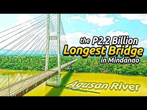The Php2.2 Billion Macapagal Bridge in Butuan City // The Longest Bridge in Mindanao