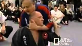 A very weird Martial Art that believes in No-touch KO's