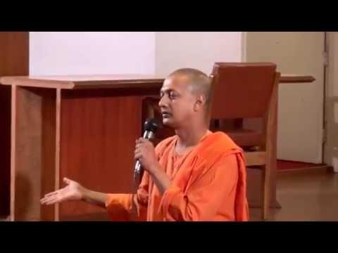 Swami Sarvapriyananda addressing Vivekananda Youth Forum @Ramakrishna Mission Delhi