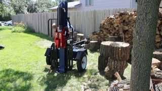 Iron & Oak 37 Ton Horizontal/Vertical Log Splitter