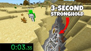 Minecraft's LUCKIEST Moments Of ALL TIME #4