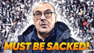 Maurizio Sarri Must Be Sacked At Juventus Because… | Continental Club