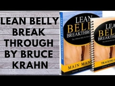 Lean Belly Breakthrough By Bruce Krahn - Lean Belly Breakthrough Review