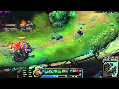 League of Legends-GypsyDanger454- Illaoi SUPPORT Vessel HELL! Illaoi/Tristana VS Blitzcrank/Tristana