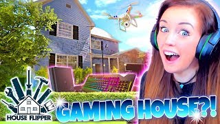 🤫SECRET GAMING ROOM!🎮 (⚒ House Flipper! #5 🏘)