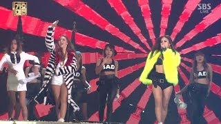 CL LEE HYORI 1229 SBS Gayo Daejun 나쁜 기집애 THE BADDEST FEMALE