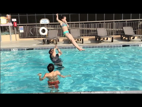 Pool Stunt Gone Wrong? (WK 214) | Bratayley