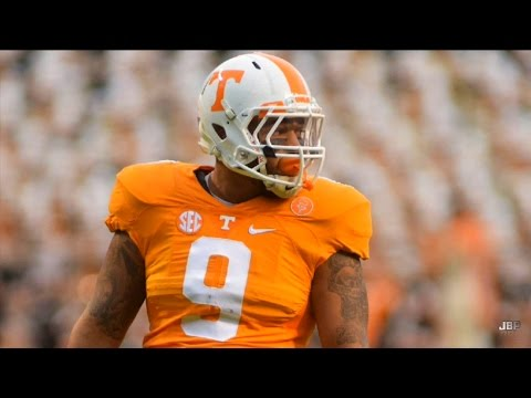 Best Pass Rusher in Tennessee Football History || Tennessee DE Derek Barnett 2016 Highlights ᴴᴰ