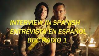 PRIMERA ENTREVISTA DE TWENTY ONE PILOTS DESPUÉS DEL HIATUS BBC (Traducida)