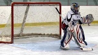 Hockey Goalie Drill: Simple Hand Saves