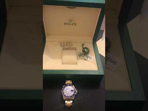 勞力士間金藍水鬼 (Rolex Submariner 116613LB) review