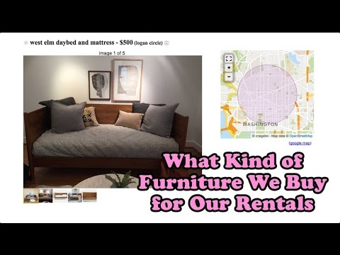 Shampoo and Booze Episode 49: What Kind of Furniture We Buy for Our Rentals