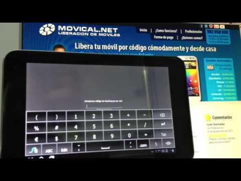 Liberar vodafone smart tab 7 desbloqueo por imei en - Movical net liberar ...