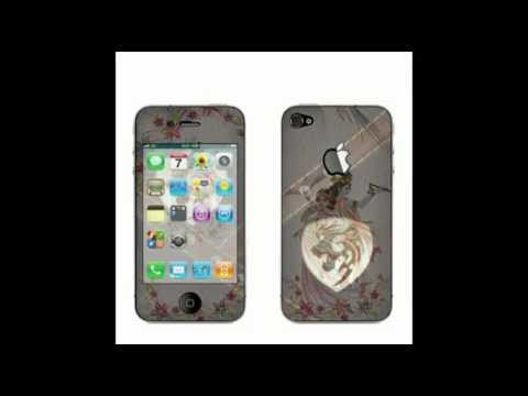How uR Apple iPhone4 will Look with MyStyle Designer Mobile SKIN...
