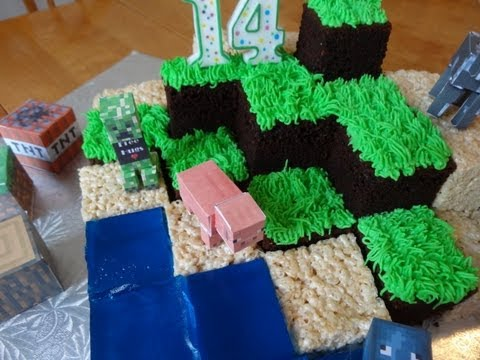how-to-make-a-minecraft-cake---with-yoyomax12