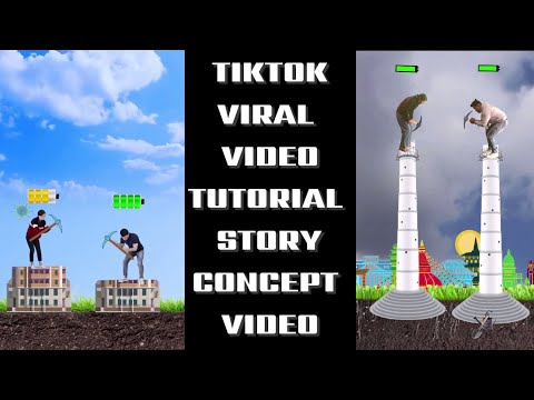 Tiktok viral story concept video tutorial/ tiktok trending video tutorial