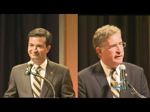 Debate Night: Curbelo & Garcia Battle On Healthcare, Corruption & Cuba