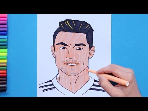How To Draw Ronaldo