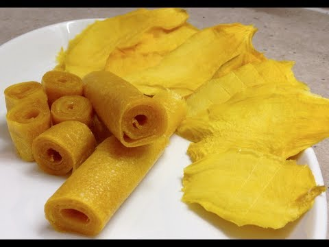 Mango Leather Rollups & Fruit Thermochef Video Recipe cheekyricho