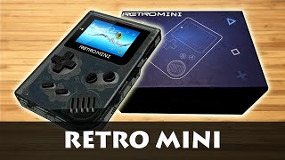 Retro Mini - Handheld Console (Unboxing)