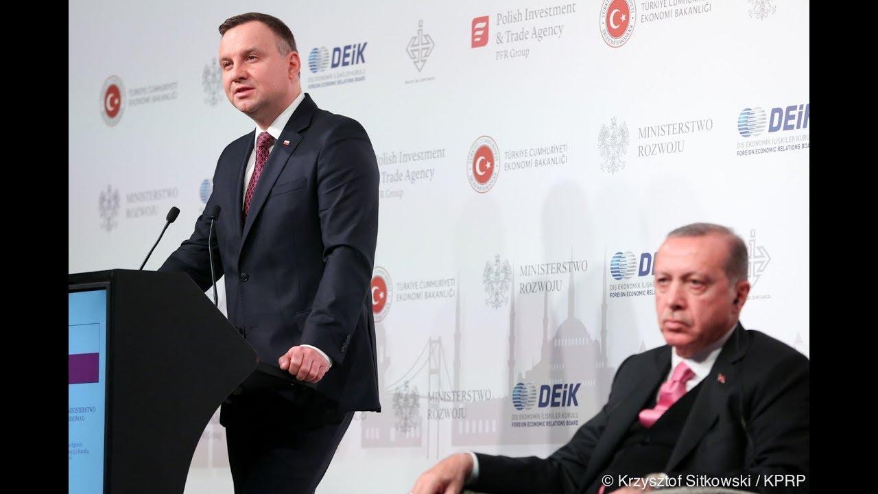 Prezydent RP na Polsko-Tureckim Forum Gospodarczym