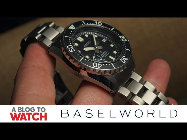 Seiko Prospex LX Collection Ref. SNR029 Watch Hands-On | New for Baselworld 2019 | aBlogtoWatch