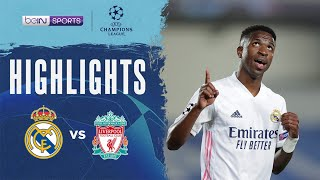 Real Madrid 3-1 Liverpool   Champions League 20/21 Match Highlights