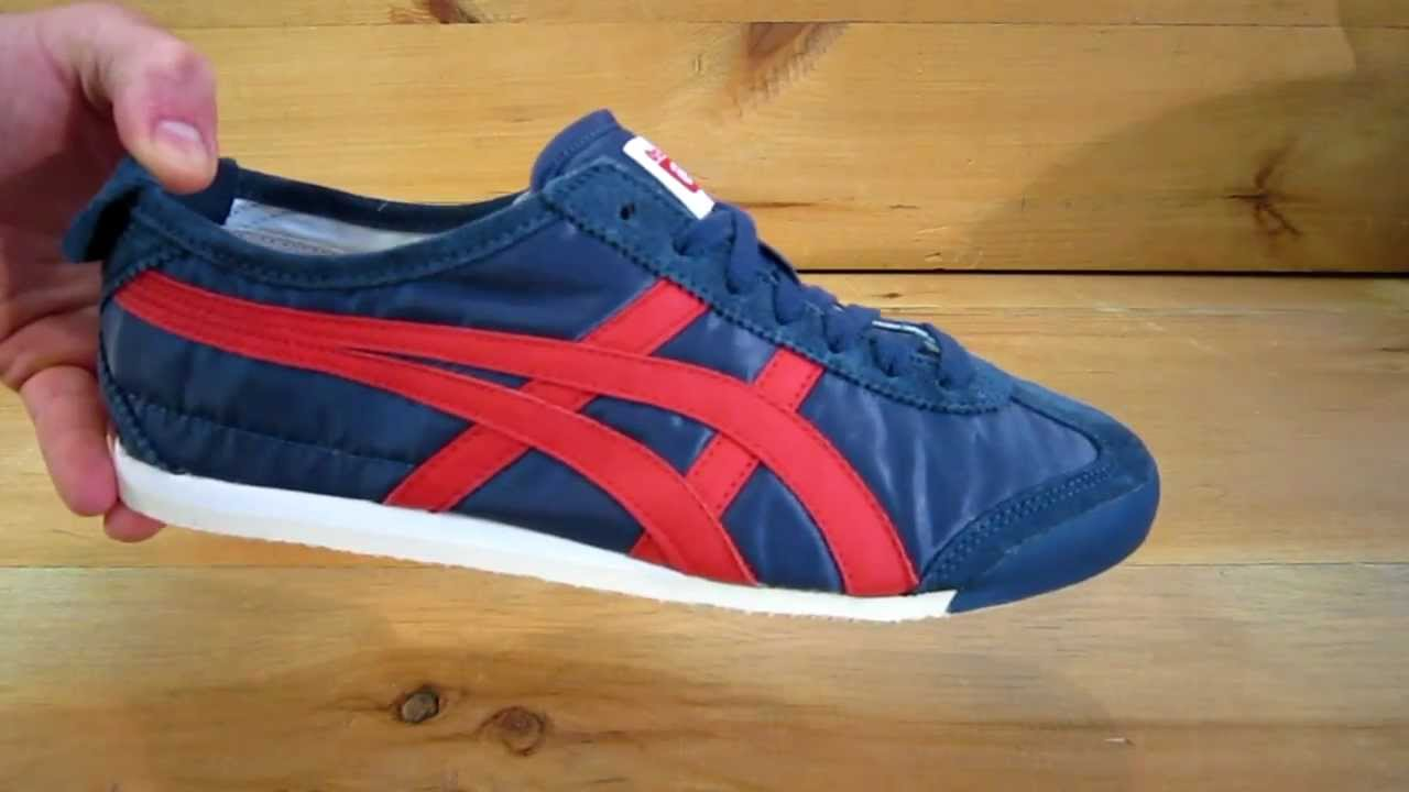 cheap for discount 8eab8 38b10 Onitsuka Tiger Mexico 66 Vintage Shoes Navy