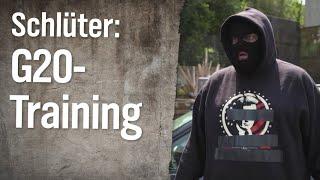 Johannes Schlüter: G20-Trainingslager für gewaltbereite Autonome | extra 3 | NDR