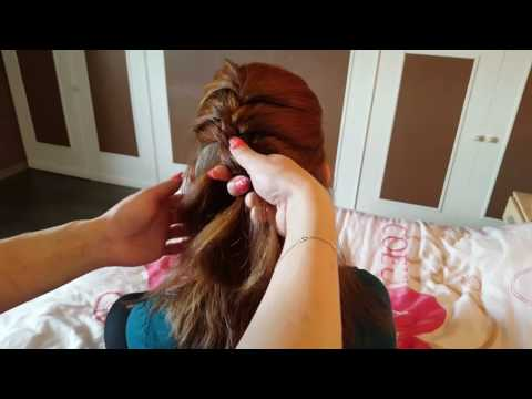 ASMR Gentle hair play, brushing, braiding, no talking