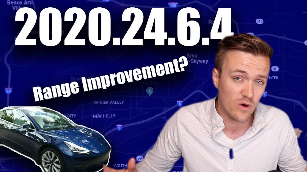 Update 2020.24.6.4 improves battery range calculation? | Quick Bandit Winner | Autopilot