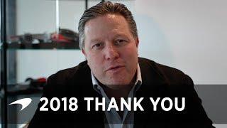 2018 Season wrap | Thank you message
