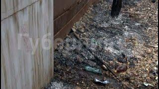 Из-за пала травы загорелся гараж хабаровчанина.MestoproTV