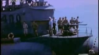 伊号第400潜水艦 カラー映像