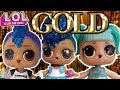 LOL Surprise ULTRA RARE LOL Doll! Gold Ball With Boy LOL Punk Boi LOL Surprise Confetti Pop Series 3