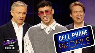 Cell Phone Profile w/ Bad Bunny, Pete Holmes & Martin Freeman