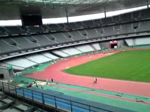Stade france tribune des journalistes youtube - Tribune vip stade de france ...