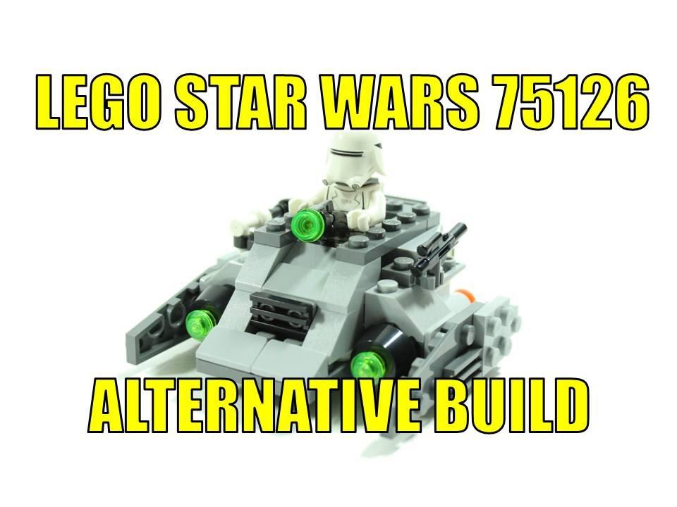 First Order Snowspeeder LEGO Bau- & Konstruktionsspielzeug LEGO Star Wars 75126