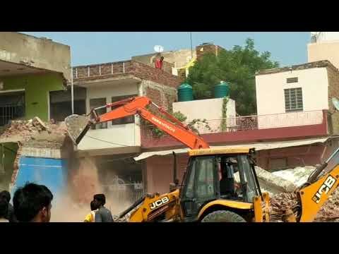 Big Building Collapse By JDA Jaipur