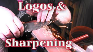 Logos & Sharpening - Knife Vlog 15