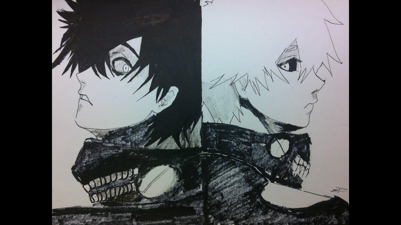 Speed Drawing Kaneki Ken - Tokyo Ghoul